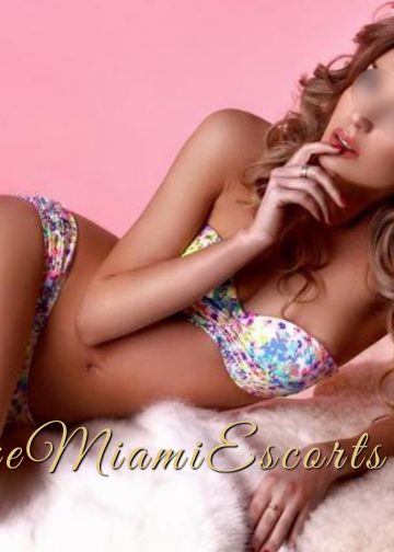 Beautiful and sexy Isabella in her swim wear - by LUXE Miami Escorts